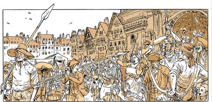 Paris 1789 : Révolution de Grouazel et Locard