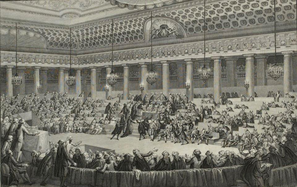 Espace et discours : les Assemblées de la Révolution